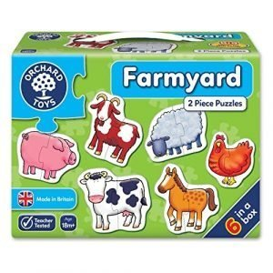Orchard Toys Farmyard 2 Piece Puzzle