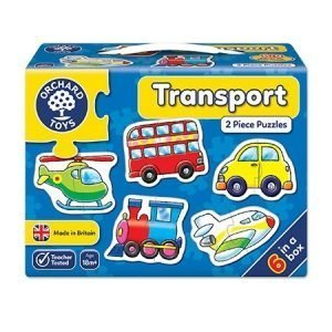 Orchard Toys Transport 2 Piece Puzzle