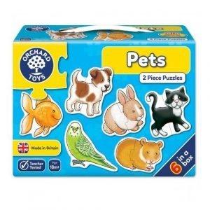 Orchard Toys Pets 2 Piece Puzzle