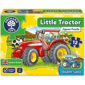 Orchard Toys Little Tractor Double Sided Jigsaw