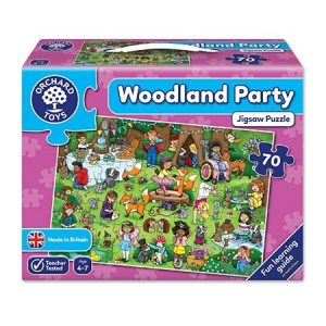 Orchard Toys Woodland Party Jigsaw - 70 Pieces
