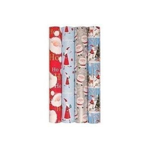 Christmas Wrapping Paper 5m x 69cm - Santa Red