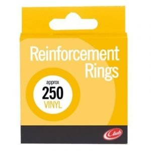 Vinyl Reinforcement Rings x 250