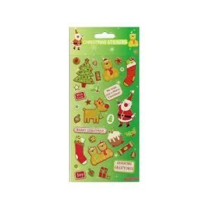 Children's Christmas Stickers - Greetings