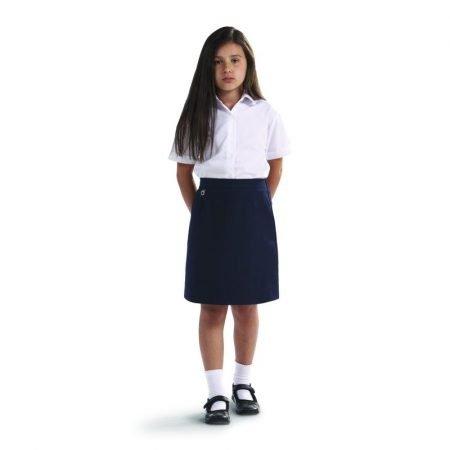 Amber Straight Skirt - Navy - 4-5