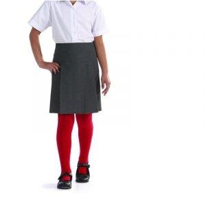 Banbury Pleated Skirt - Navy - 9-10