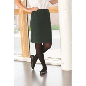 Honiton Straight Skirt - Black 22-28 inch waist