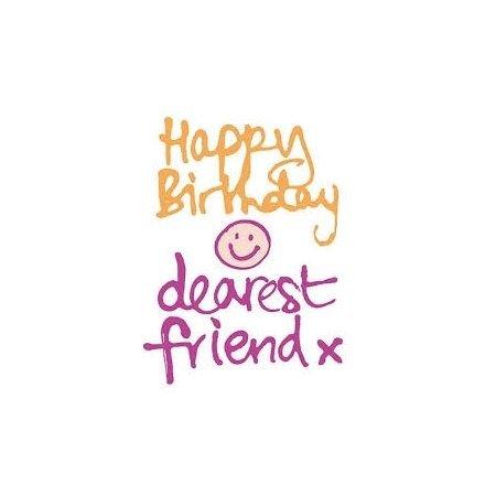 Happy Birthday Dearest Friend Card