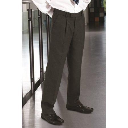 Putney Boys Sturdy Fit Trousers - Black 23-28 inch waist