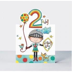Rachel Ellen 2 Today Birthday Boy Card