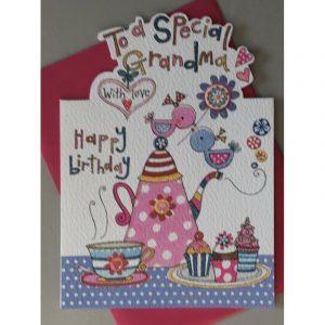 Rachel Ellen To A Special Grandma Happy Birthday Card