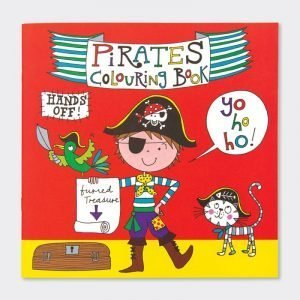 Rachel Ellen Colouring Book - Pirates