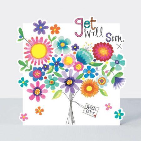 Rachel Ellen Get Well Soon With Love Card