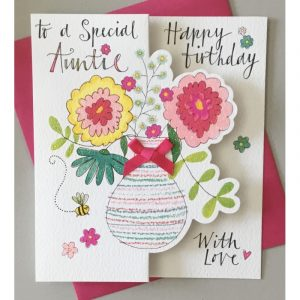 To A Special Aunty Happy Birthday Card