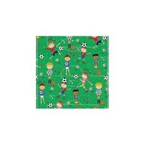 Rachel Ellen Single Sheet Wrapping Paper - Football