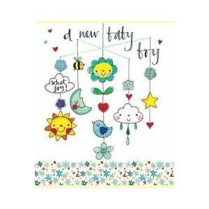 Rachel Ellen A New Baby Boy What Joy Card