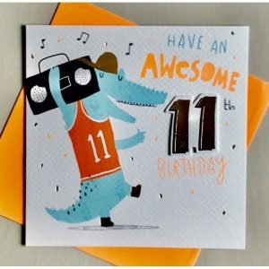 Rachel Ellen Have An Awesome 11th Birthday Card