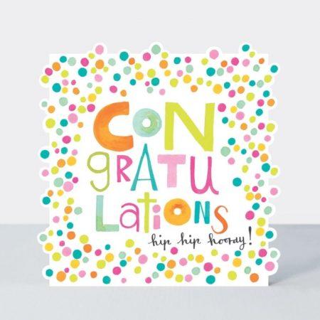 Rachel Ellen Congratulations Hip Hip Hooray Card