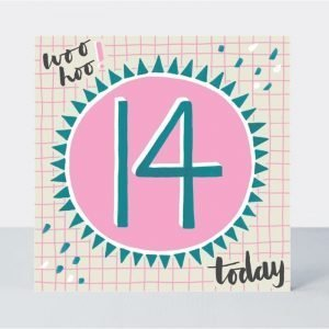 Rachel Ellen Woo Hoo 14 Today Card