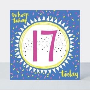Rachel Ellen Whoop Whoop 17 Today Card