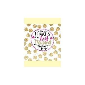 Rachel Ellen To The World's Best Mummy Gold Dots Card
