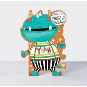 Rachel Ellen Have A Monster Birthday Card