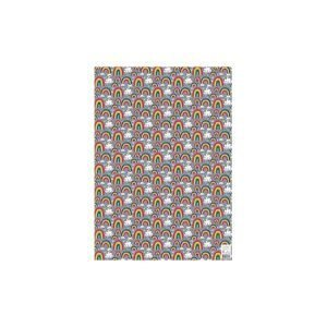 Rachel Ellen Single Sheet Wrapping Paper - Rainbows and Clouds