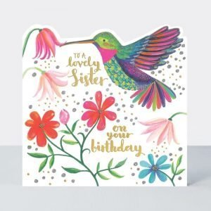 Rachel Ellen To Lovely Sister On Your Birthday Card