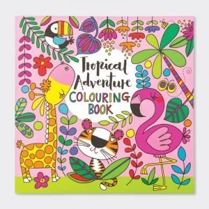 Rachel Ellen Colouring Book - Tropical Adventure