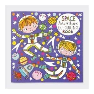 Rachel Ellen Colouring Book - Space Adventure
