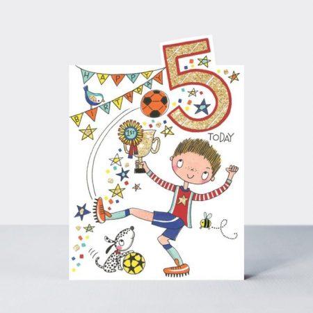 Rachel Ellen Happy Birthday 5 Today Footballer Card