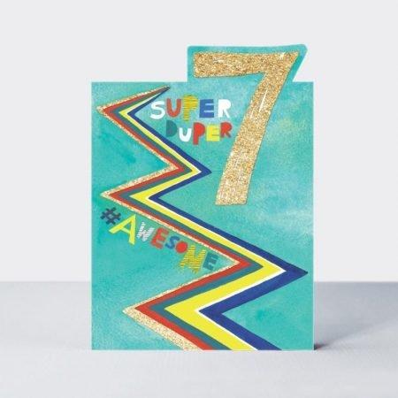Rachel Ellen Super Duper 7 #Awesome Card