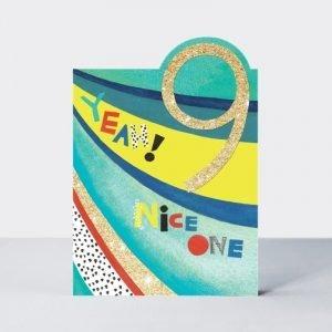 Rachel Ellen 9 Yeah Nice One Card
