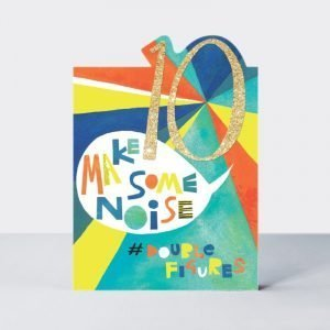 Rachel Ellen 10 Make Some Noise #DoubleFigures Card