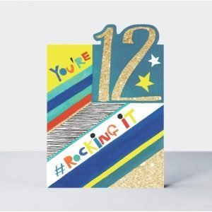 Rachel Ellen You're 12 #RockingIt Card