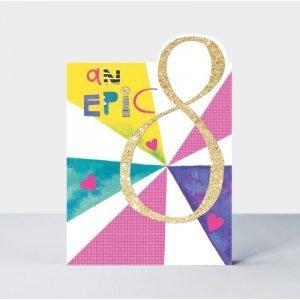 Rachel Ellen An Epic 8 Pink Card