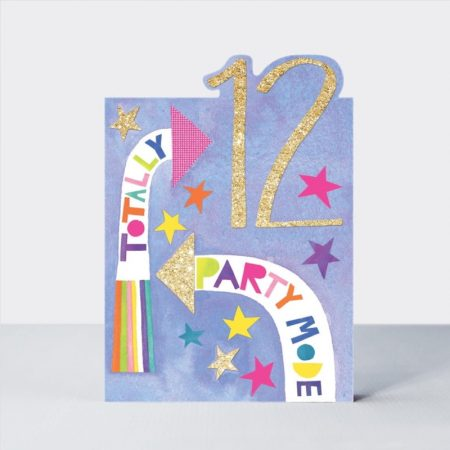 Rachel Ellen Totally 12 Party Mode Card