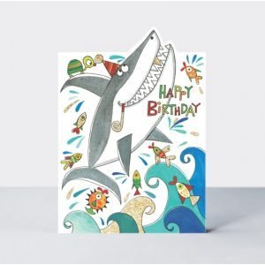 Rachel Ellen Happy Birthday Shark Card