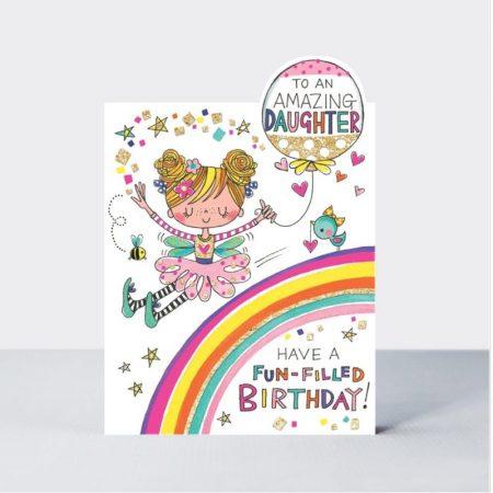 Rachel Ellen To An Amazing Daughter On Your Birthday Card