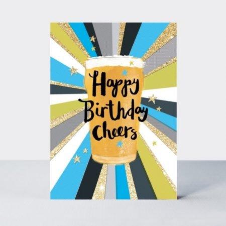 Rachel Ellen Happy Birthday Cheers Card