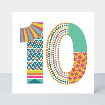 Rachel Ellen 10 Neon Pop Card