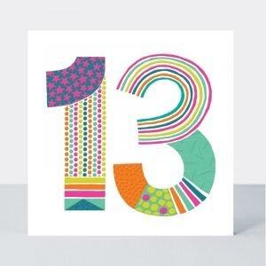 Rachel Ellen 13 Neon Pop Card