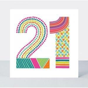 Rachel Ellen 21 Neon Pop Card