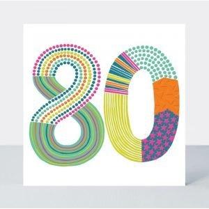 Rachel Ellen 80 Neon Pop Card
