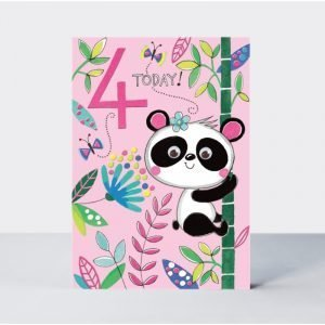 Rachel Ellen 4 Today Panda Card
