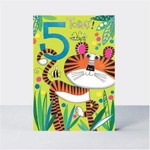 Rachel Ellen 5 Today Tiger Card