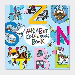 Rachel Ellen Colouring Book - Alphabet