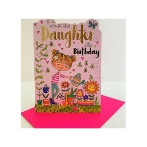 Rachel Ellen To A Wonderful Daughter On Your Birthday Card