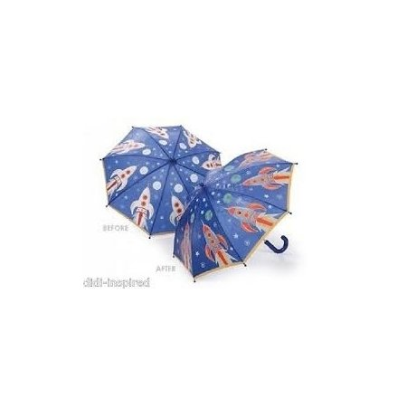 Floss & Rock Colour Changing Umbrella - Rocket