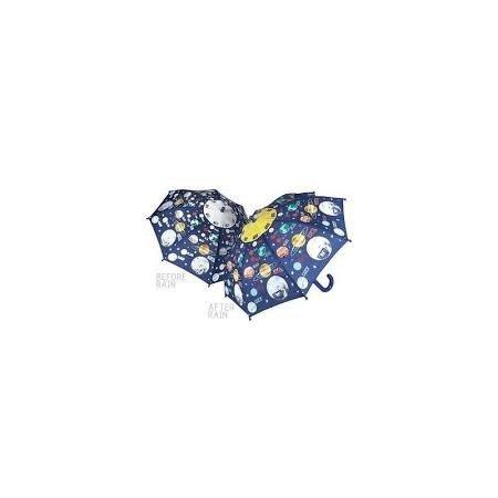 Floss & Rock Colour Changing Umbrella - Universe